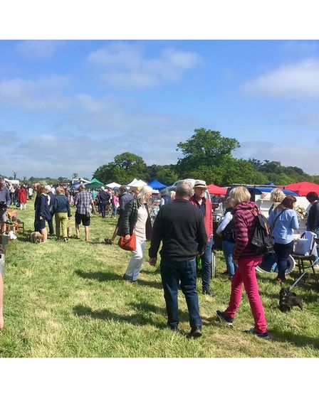 The Grand Brocante antiques and vintage market is to be staged at Glemham Hall