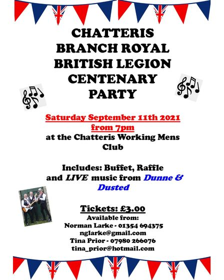 Chatteris Centenary Party