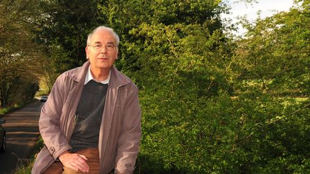 Independent councillor for East Bergholt, John Hinto