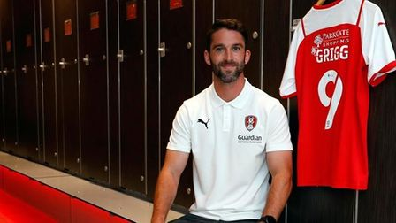 Will Grigg swapped Sunderland for Rotherham on deadline day