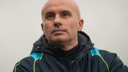 Things are looking up for Lowestoft Town boss Ady Gallagher.
