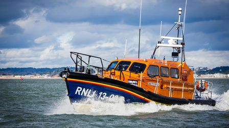 A Shannon class lifeboat similar to the vesselDuke of Edinburgh, which will be based at Wells Lifeboat Station.