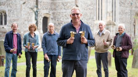 Handbell ringers in Leiston marked the centenary of a very significant bellringing performance in 1921.