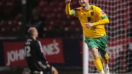 Ex-Norwich City striker Jamie Cureton is looking forward to an FA Cup trip to Everton. Pic by Alex B