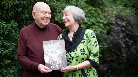 Maureen Crisp with her husband Peter. Picture: Sarah Lucy Brown