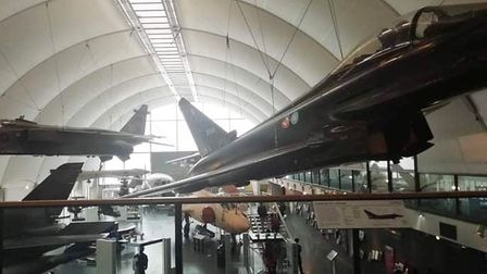 RAF Museum visit for Ely air cadets