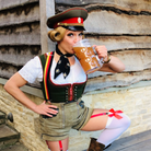 Cheers... to the Oktober bier fest