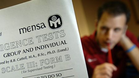 Can you pass the Mensa test?