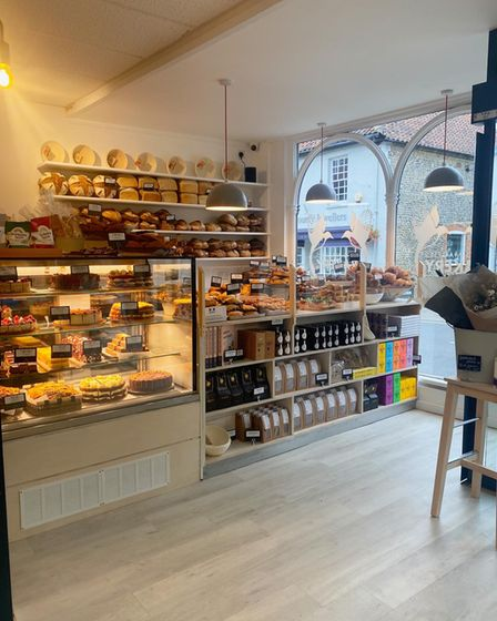 Two Magpies Bakery in Holt has opened in the former Bakers & Larners department store