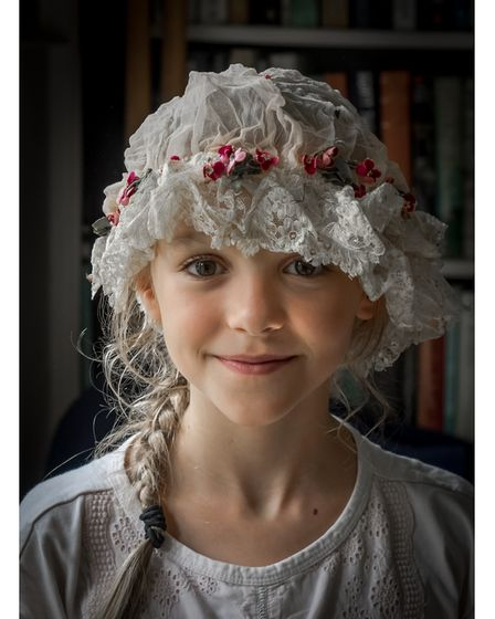 Girl in a mob cap, by Mark Gray, joint first place colour image category.