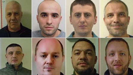 Suffolk police are looking for these wanted men