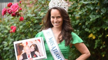 Natasha Streatfield - a beauty pageant queen and supporter of the Alzheimer's Society.