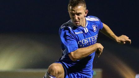 Jake Reed will be a Lowestoft absentee at FC United. Picture: DAVID HORN/FOCUS IMAGES