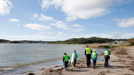 Unclean beaches are one of the biggest threats to Suffolk's local environment