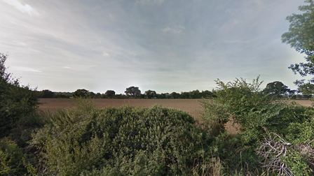 The area of land on Berechurch Hall Road that could become home to 153 new properties