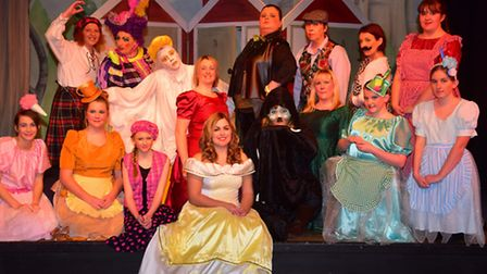 Dress rehearsal of the Southwold and Reydon panto Beauty and the Beast.PHOTO: Nick Butcher