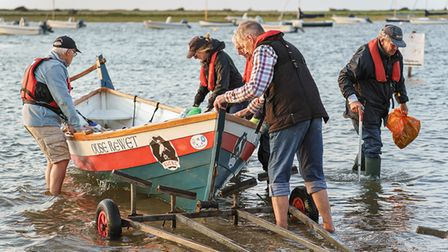 Each boat will contain two members from theKing's Lynn rowing club to help with the rowing,