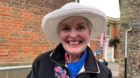 Margaret Sewell, 69, from Bintree.