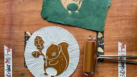 Haychley Webb is running a series of linocut printing workshops for beginners in Norwich this autumn