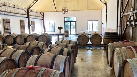 The Barrel Hall at Giffords Hall Vineyard is drawing a host of new visitors