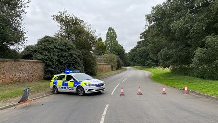A man in his 50s has died following a crash on King's Avenue in Sandringham today.