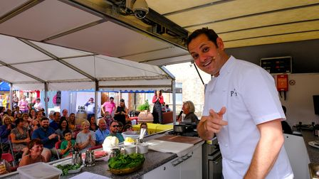 Tristan Welch on main stage at Newmarket Food & Drink Festival 2019 Picture: NEWMARKET FOOD & DRINK