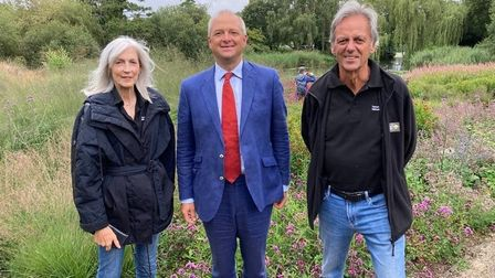 Jerome Mayhew visited Pensthorpe and met with owners Bill and Deb Jordan.