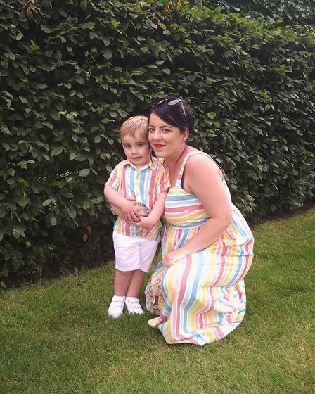 Sammy-Jo was unaware that PCOS was the reason she was struggling to conceive
