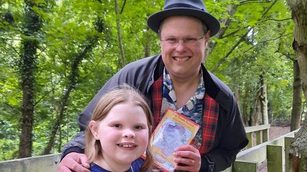 David Howden with his daughter Katelyn