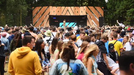 The Mystree stage at the Sundown Festival. Picture: DENISE BRADLEY