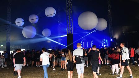 The Castle stage at the Sundown Festival. Picture: DENISE BRADLEY