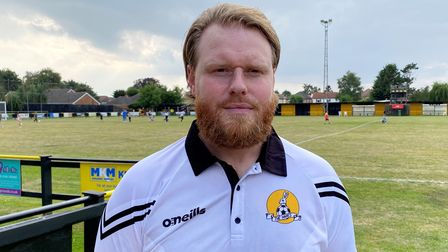 Ashley Taylor led March Town to first Eastern Counties League Premier Division win