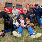 The Saxton family. Holkham food and drink festival 2021 PIcture VICTORIA PERTUSA