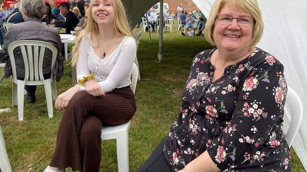 The Greengrass family. Holkham food and drink festival 2021 PIcture VICTORIA PERTUSA