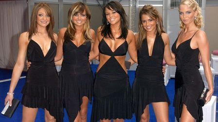 Girls Aloud during the Glamour Women Of The Year Awards at Berkeley Square in central London - the