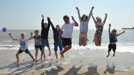 Suffolk is set to be hotter than Athens this week, forecasters have said