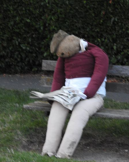 The scarecrow festival started on Saturday (September 4) and entries will be on display around the village.