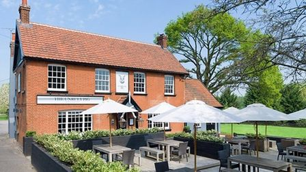 The Unruly Pig, in Bromeswell near Woodbridge, has been named among the UK's top 10 gastropubs