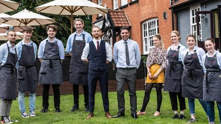 The team at The Unruly Pig. Picture:Sarah Lucy Brown