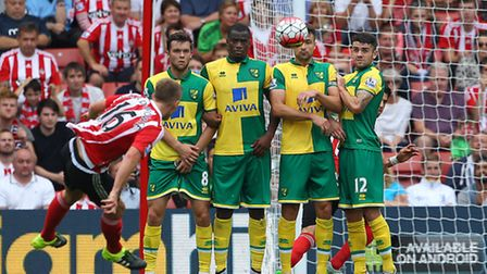 Southampton were too good for Norwich City in a 3-0 Premier League win. Picture by Paul Chesterton/F