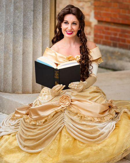 """Believe in Magic Parties is a newbusiness in Norfolk bringing """"real life""""princesses to your chosen special occasion"""