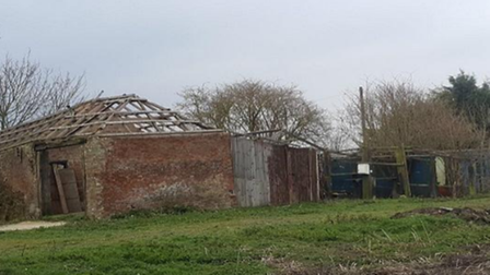 Pictures of the site at Hybrid Farm in Barroway Drove.