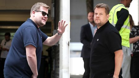 Gavin and Stacey star James Corden was reportedly filming atThe Varsity Hotel & Spa.