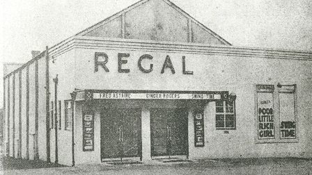 The Regal on its opening day.