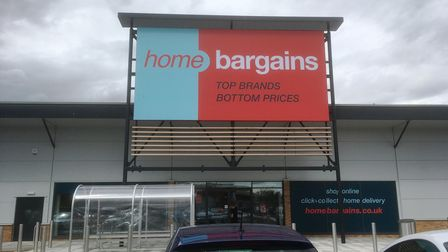The Home Bargains store at Suffolk Retail Park, Ipswich opens to the public on Saturday August 10.