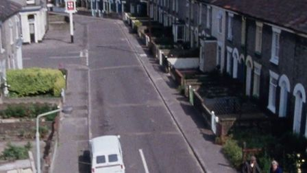 """Part of Norwich's Golden Triangle feature in """"Not So Much A Facelift..."""". Picture: BFI"""