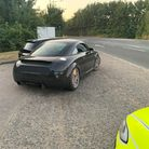 The Audi TT was seized by police in Stowmarket