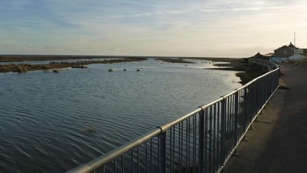Coastal village Kessingland, near Lowestoft, has some of the cheapest homes in the county