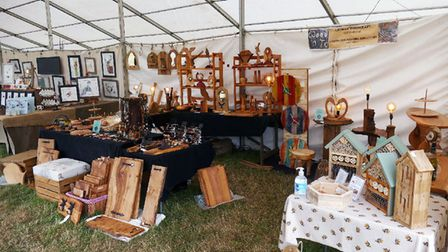 Craft stalls will be at the Sandringham Game and Country Fair.