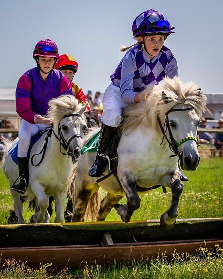 Shetland Pony Racing will be in the main arena at the event.